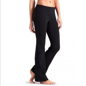 Athleta revelation flared black yoga pants